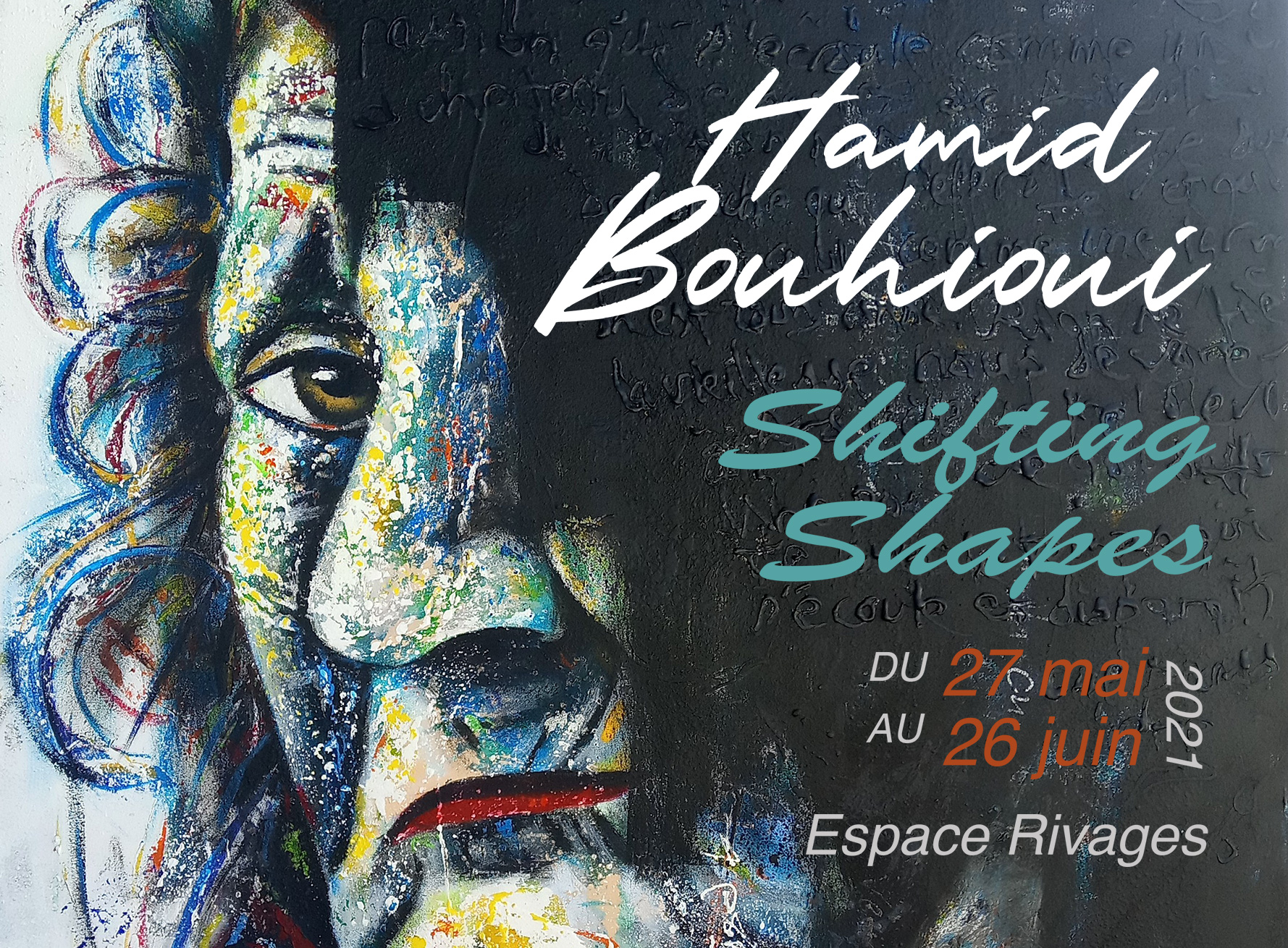 معرض الفنان التشكيلي حميد بوحيوي