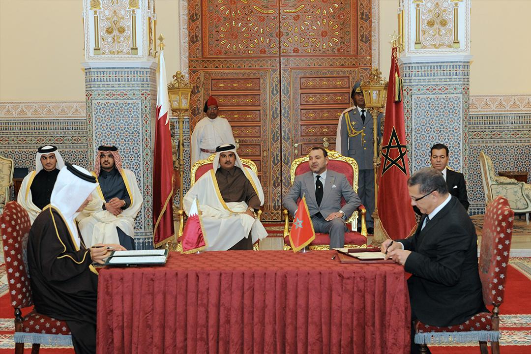 accords signes entre maroc qatar