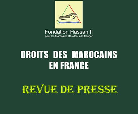 Revue de presse « Droits des Marocains en France »