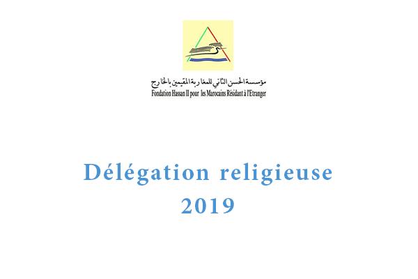 delegation religieuse 2019