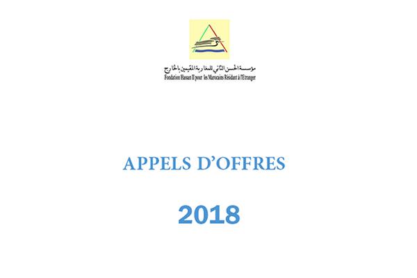 appels offres 2018 fr