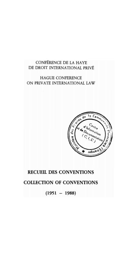 Droit international prive