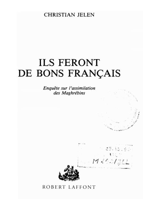 ILS FERONT DE BONS FRANCAIS