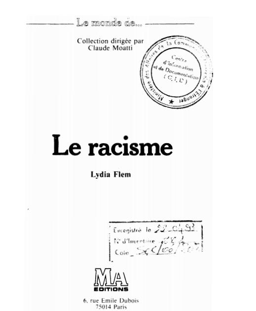 LE RACISMEe