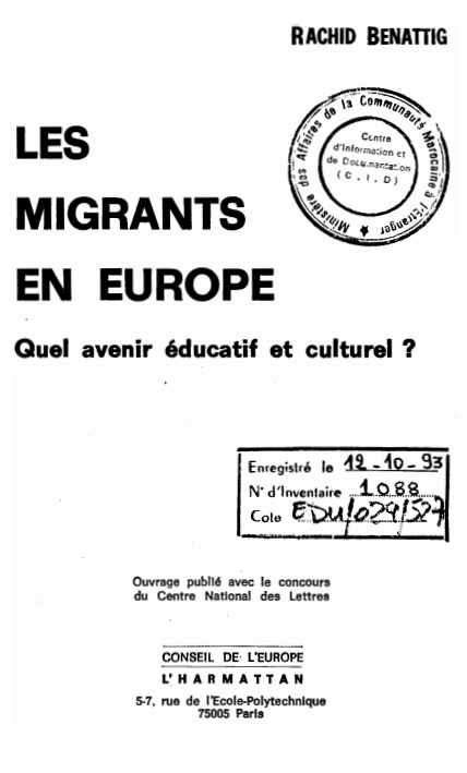 LES MIGRANTS EN EUROPE