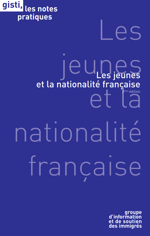 Les jeunes et la nationalite francaise