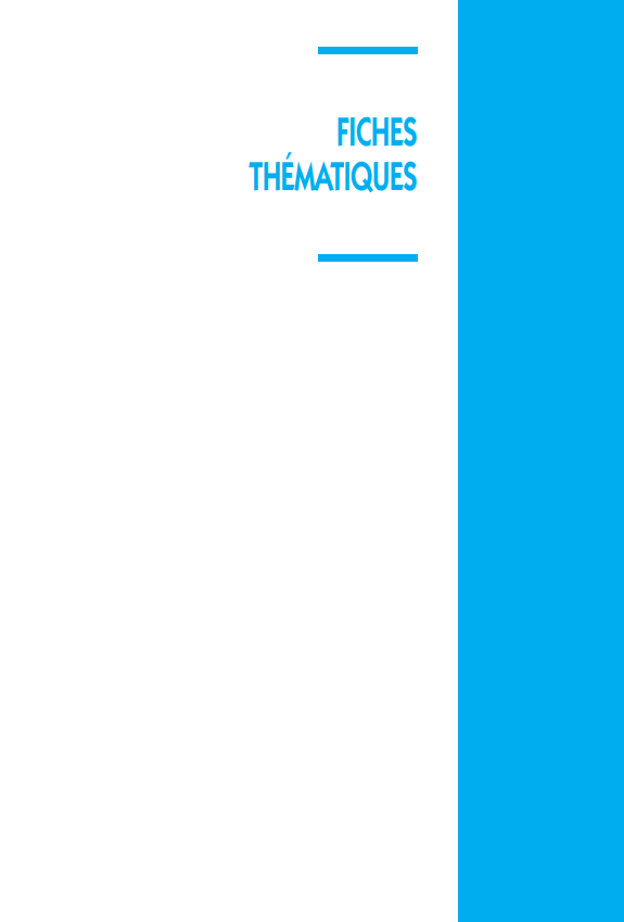 Fiches thematiques