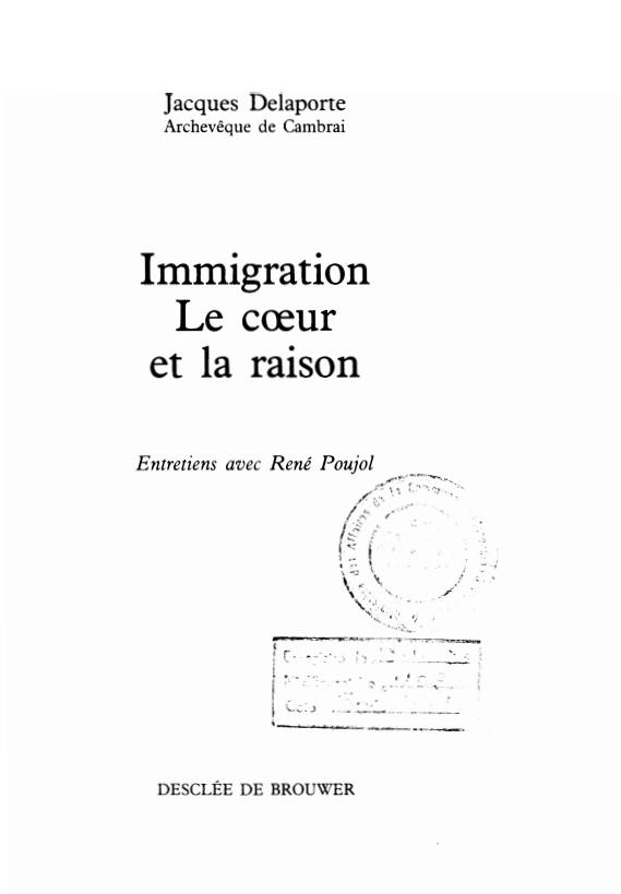 IMMIGRATION LE COEUR ET LA RAISON