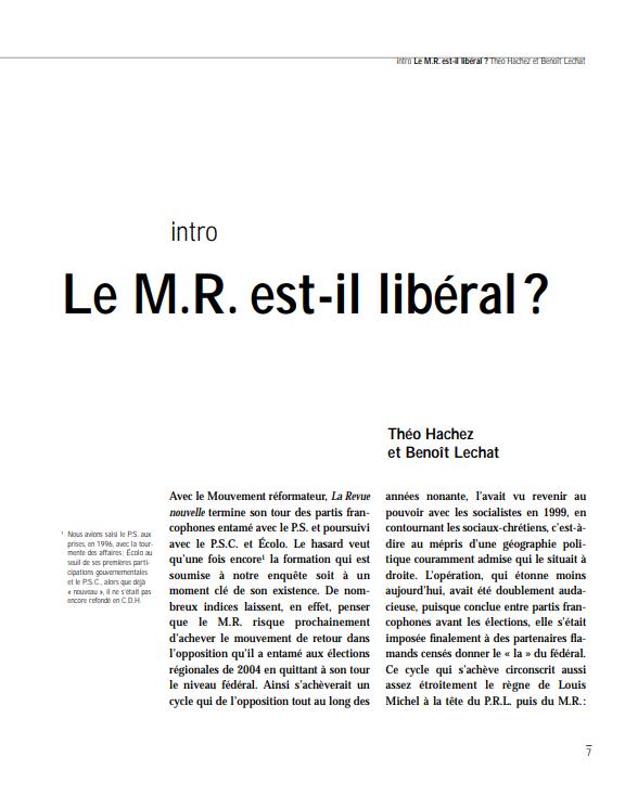Le M.R.
