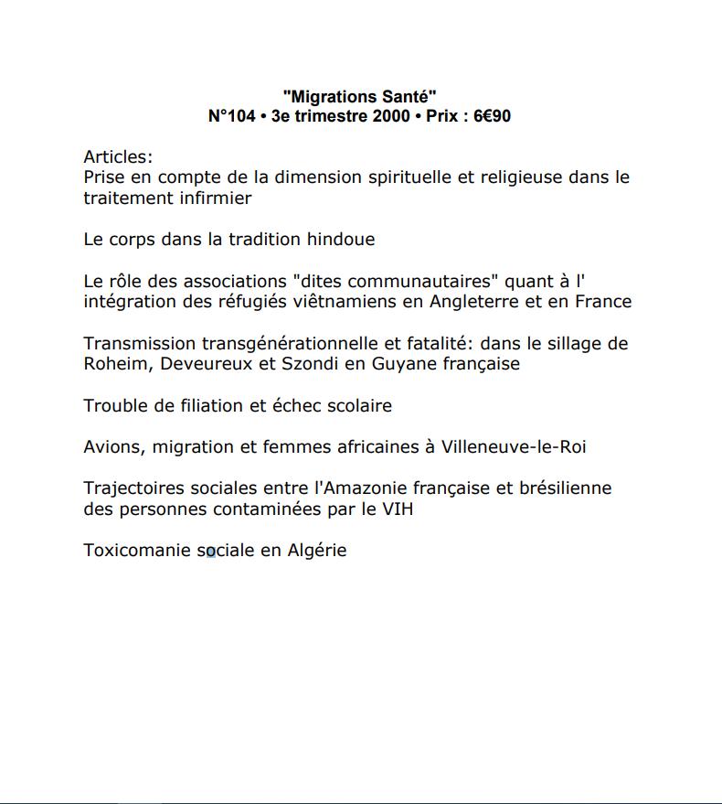 Toxicomanie sociale en Algérie