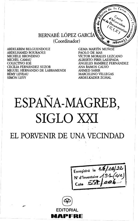 espana magreb siglo