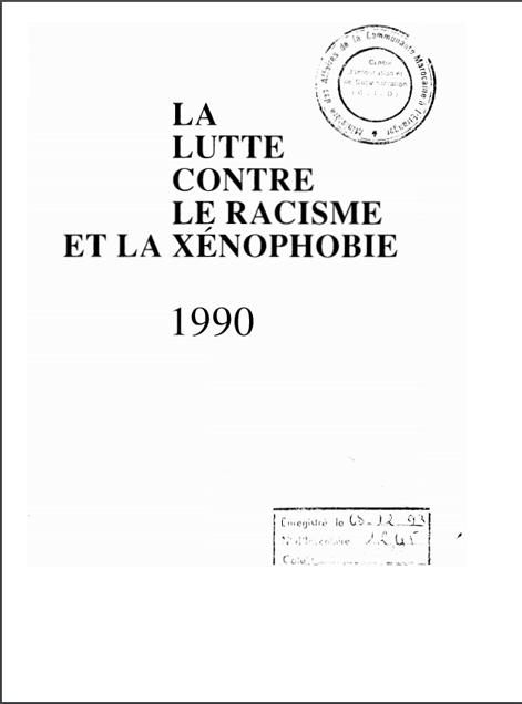 LA LUTTE CONTRE LERACISMEET LA XENOPHOBIE