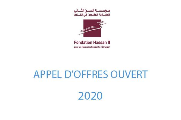Appel d'offres – 2020
