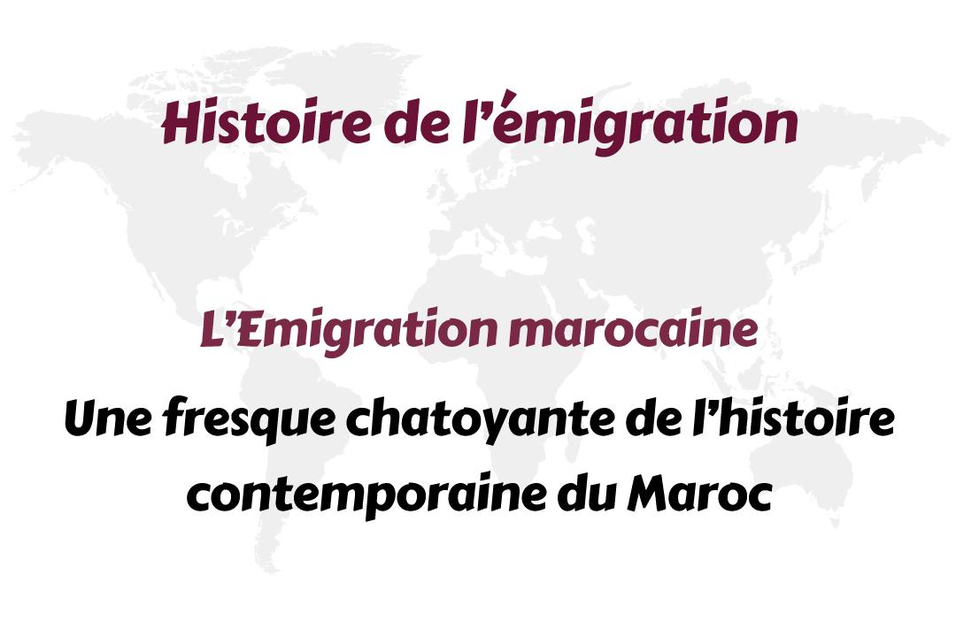 emigration fresque chatoyante